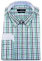 Seidensticker Herren Langarm Hemd UNO Regular Fit Button-Down-Kragen BD Patch mehrfarbig kariert 131468.77