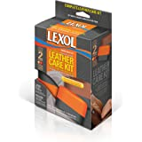Lexol E301345902 2-Step Cleaning and Conditioning Leather Care Sponge Kit,