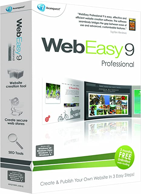 Web Easy 9 Professional Pc Amazon Co Uk Software