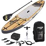 THURSO SURF Tabla de Paddle SUP Inflable Waterwalker 320/335 cm de Largo 15 cm