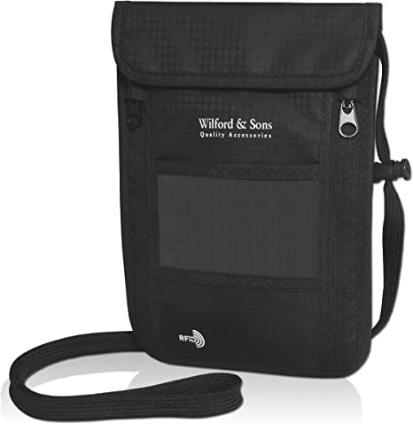 Ten Mile Street Lights Travel Passport /& Document Organizer Zipper Case