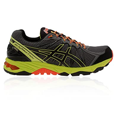 ASICS Men's Running Gel Fujitrabuco 3 Neutral G tx Trainers Grey Size: