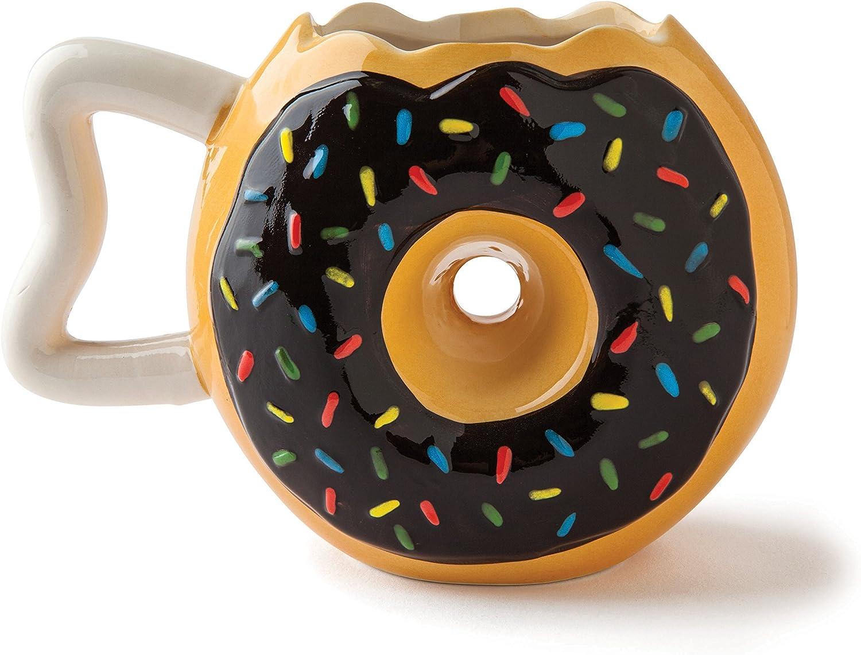BigMouth Inc Donut Mug Coffee Cup, 12 ounce, White