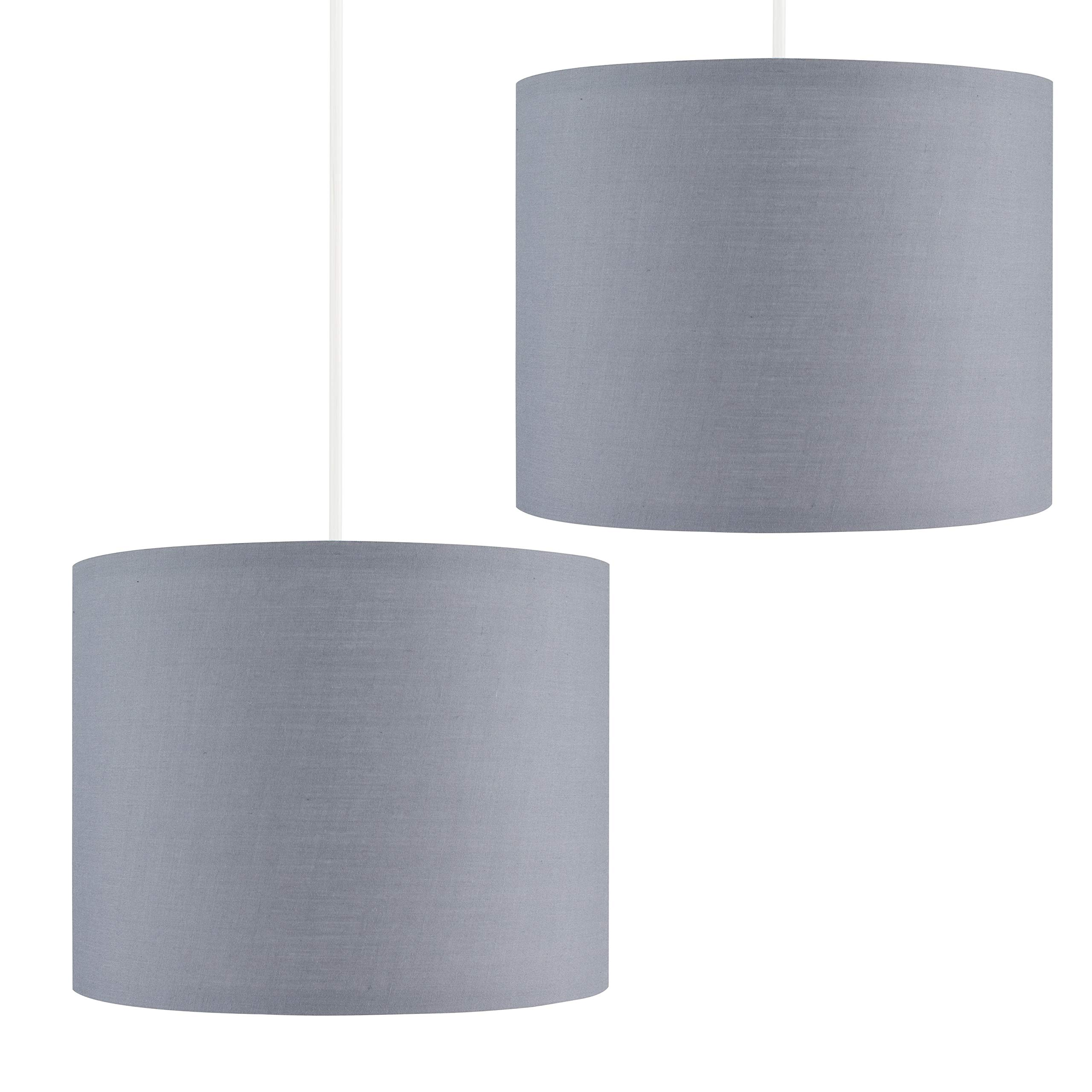Pair Of Small Modern Grey Polycotton C Buy Online In Canada At Desertcart