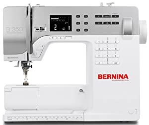 Bernina 350PE Sewing Machine with Shank Presser Feet Memory and Stitch Library