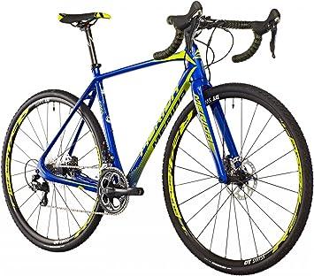 Merida Cyclo Cross 6000 - Bicicletas ciclocross - amarillo/azul Tamaño del cuadro 53 cm 2016: Amazon.es: Deportes y aire libre