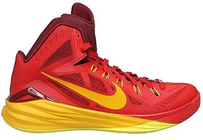 Mens Nike Lunar Hyperdunk 2014 Basketball Shoes (12, University Red/Team Red /