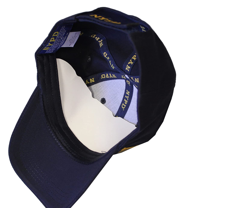 amazon com nypd baseball hat new york police department navy