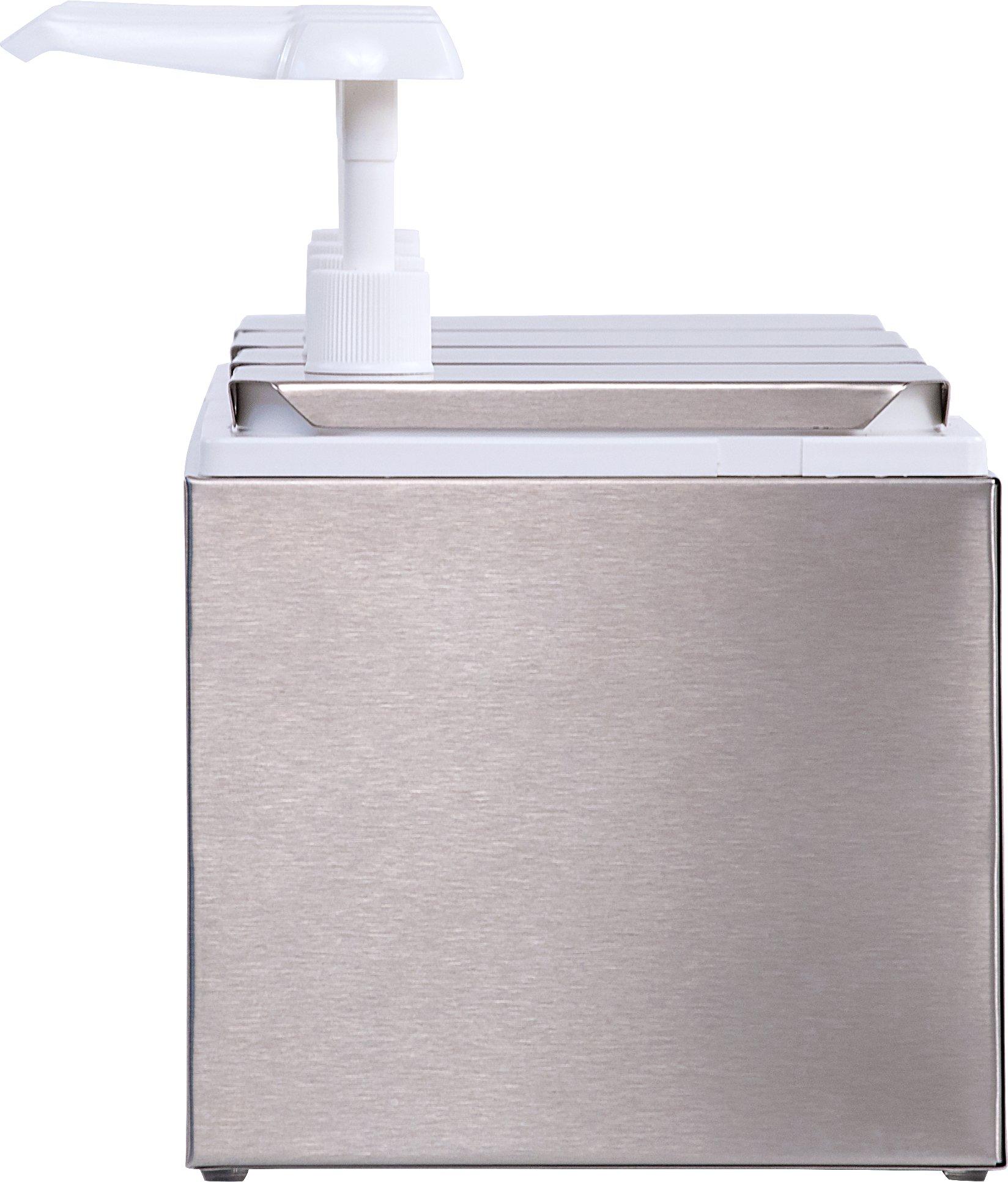 Carlisle 38504 Quadruple Condiment Pump Station with 2.5 Quart Jars by Carlisle (Image #3)