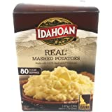 Idahoan Real Mashed Potatoes 1.47 KG - Makes 80 - 1/2 Cup Servings - Made with 100% Real Idaho Potatoes Just Add Water