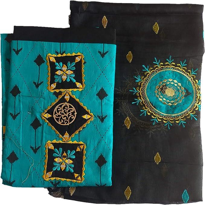 Amisvi Women S Cotton Embroidered Salwar Suit Salwar Suit