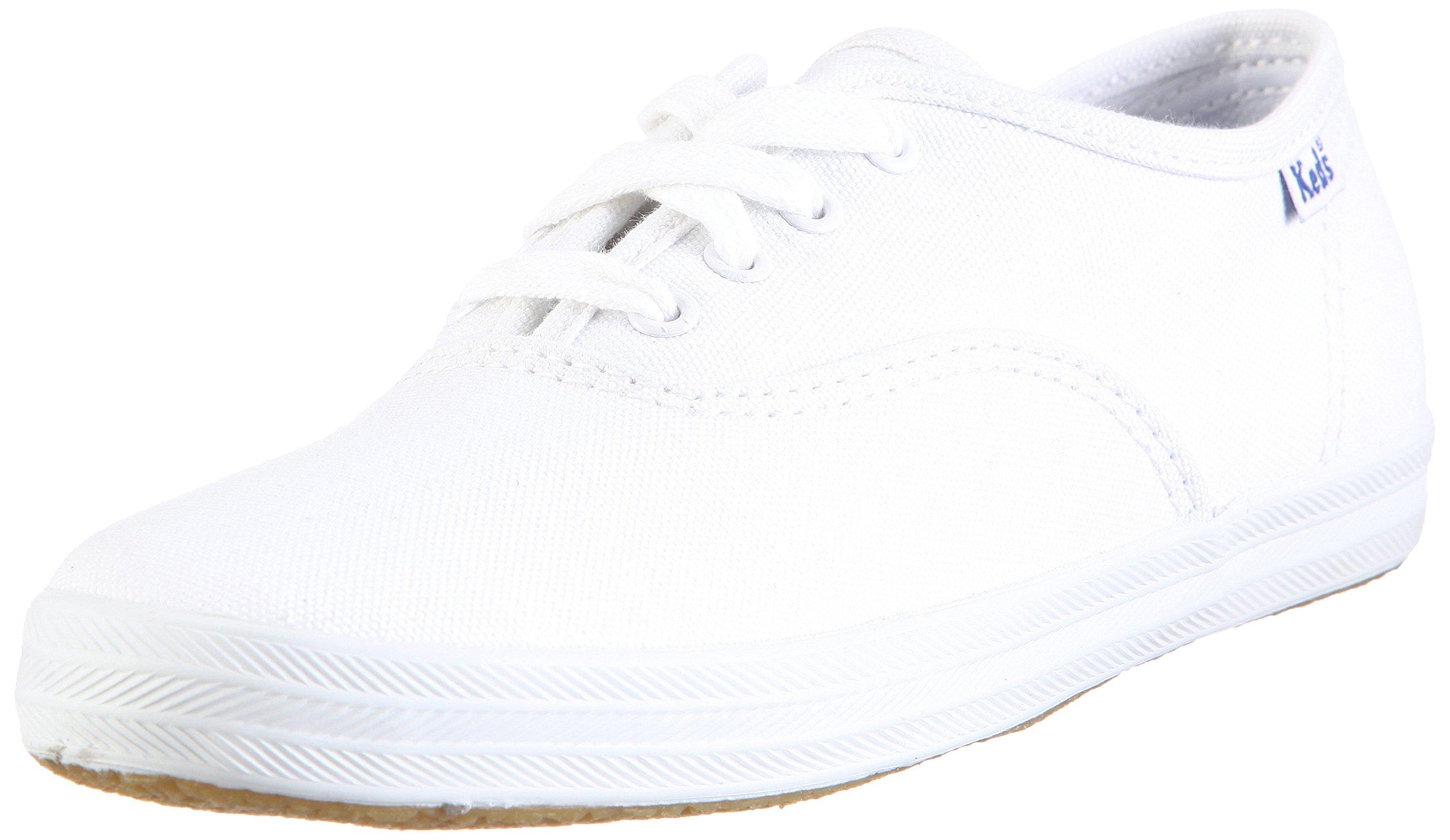 Keds Original Champion CVO Sneaker (Toddler/Little Kid/Big Kid),White Canvas,11 M US Little Kid