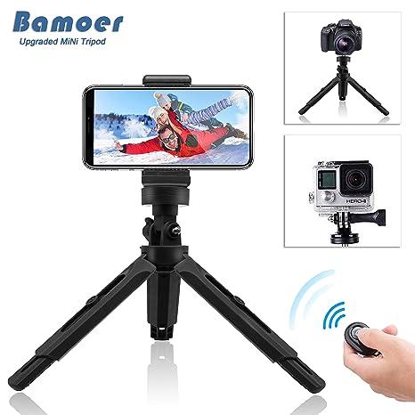 Bamoer Trípode para móvil,Trípode Flexible con Control Remoto ...