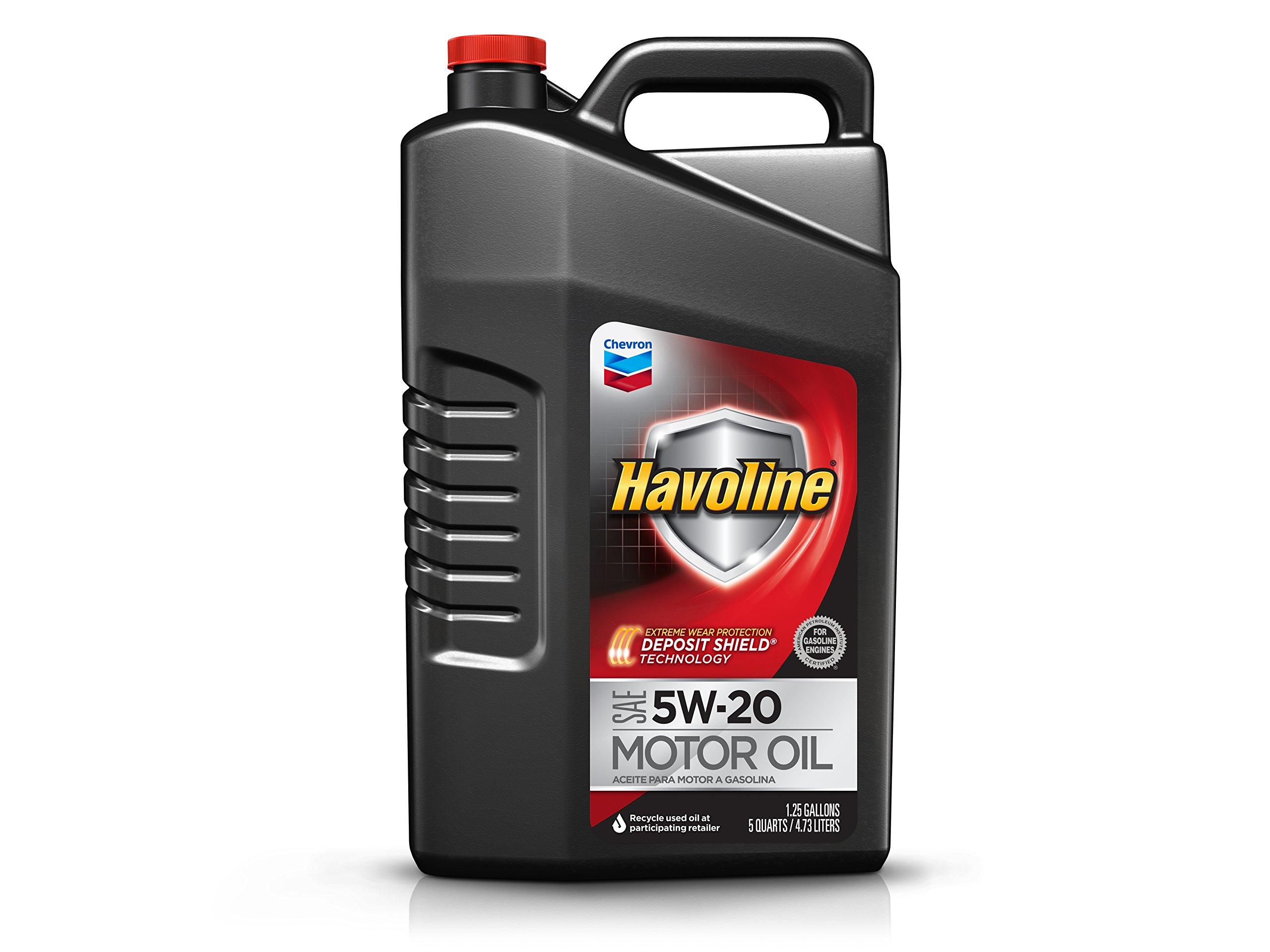 Havoline (223393485-3PK 5W-20 Motor Oil - 5 qt. (Pack of 3)