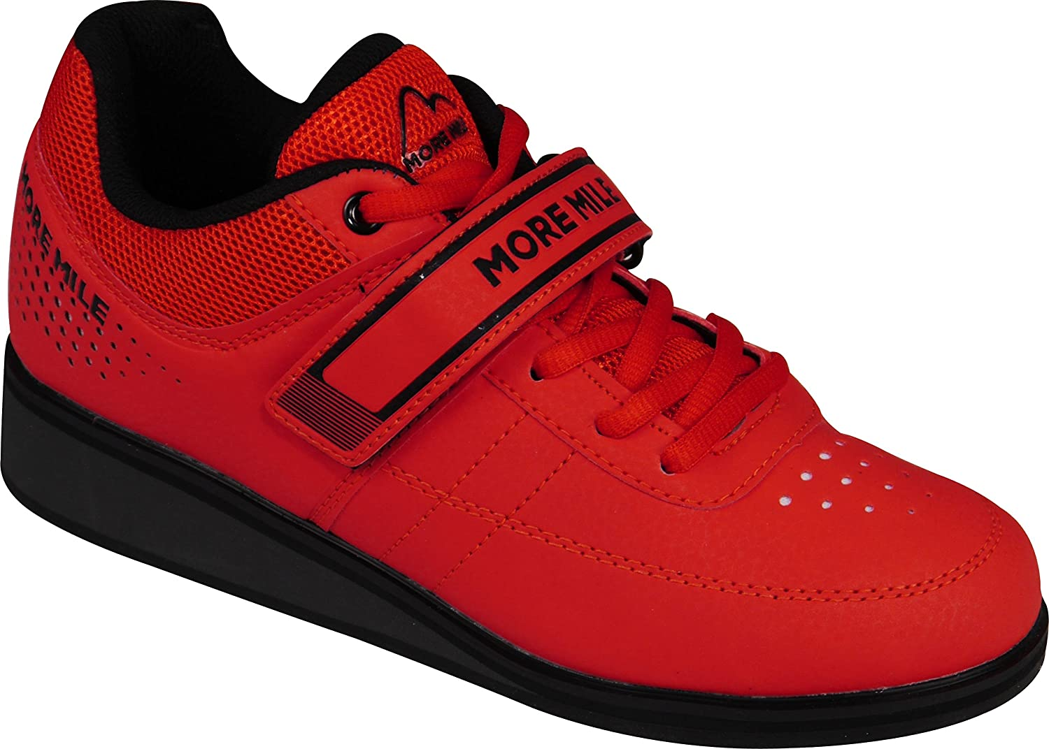 416dcca2d9f16e Amazon.com  More Mile More Lift 4 Weight Lifting Cross Fit Shoes - Red   Sports   Outdoors