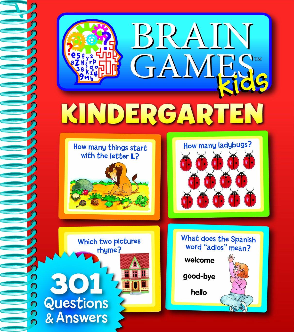 Brain Games Kids: Kindergarten: Editors of Publications ...