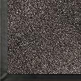 M+A Matting 871 Impressionist Olefin Fiber Interior Floor Mat, Non-Woven Polyester and Vinyl Backing, 8' Length x 4' Width, Salt/Pepper