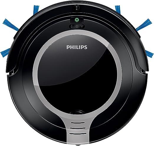 Philips SmartPro Robot Aspirador, diseño súper Compacto 6 cm ...