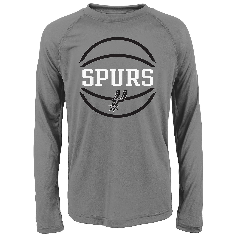 想像を超えての NBA Spursパフォーマンス長袖Tee Large NBA San B01M1E6LCF San Antonio Spurs B01M1E6LCF, カワニシチョウ:b6f463d7 --- a0267596.xsph.ru