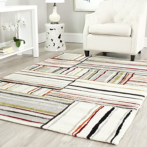 Safavieh Porcello Collection PRL3725A Ivory Area Rug 5 3 x 7 7