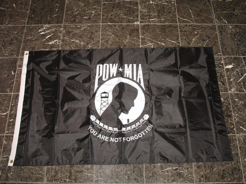 【超目玉枠】 3 x 3 5刺繍POWMIA B01MZ3N85C Solarmaxフラグ Pow MiaナイロンDouble Sided Solarmaxフラグ B01MZ3N85C, 蒟蒻麺.寒天ゼリー ミライフィット:f781c890 --- goumitra.com