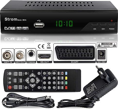 Oferta amazon: Strom 505 Decodificador HD TDT – / HDMI et Scart / H.264 / H.265 HEVC / DVBT - T2 / MPEG2 / MPEG4