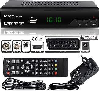 Strom 505 Decodificador HD TDT – / HDMI et Scart / H.264 / H.265 ...