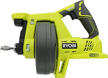 Drain Auger Sewer Snake Cleaner Ryobi Plumbing Power Tool Only Battery Operated