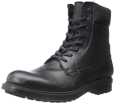 Mens Boots Calvin Klein Gable Black/Black Leather/Nylon