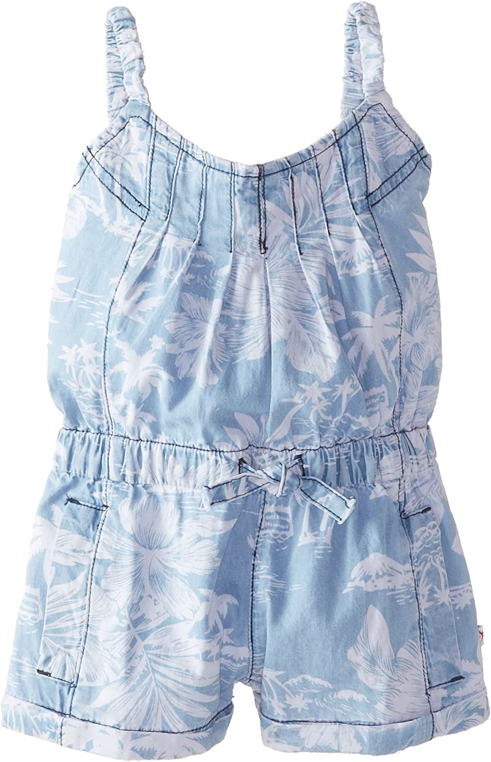 NEW Limited Too Toddler Girls 3T 4T Sleeveless Chambray Denim Dress One Piece
