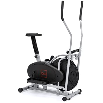 Best Choice Products Elliptical Bike 2 In 1 Cross Trainer Exercise Fitness Machine Home Gym Workout