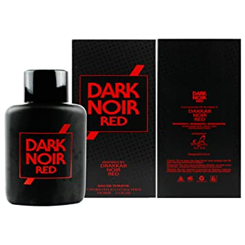 Dark Noir Red Cologne for Men Inspired by Drakkar Noir Red Eau De Toilette - 3.4