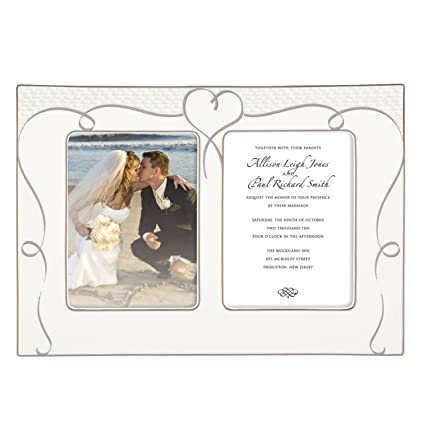317b1f266be Image Unavailable. Image not available for. Color  Lenox True Love Double  Invitation Frame ...