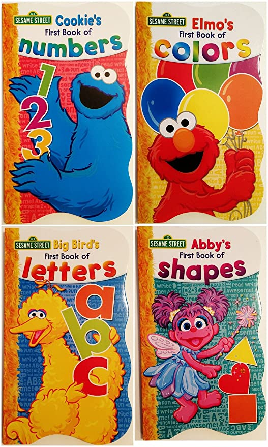 Sesame Street Ready Coloring and Activity Book with 30 Stickers 144 Pages Set Color