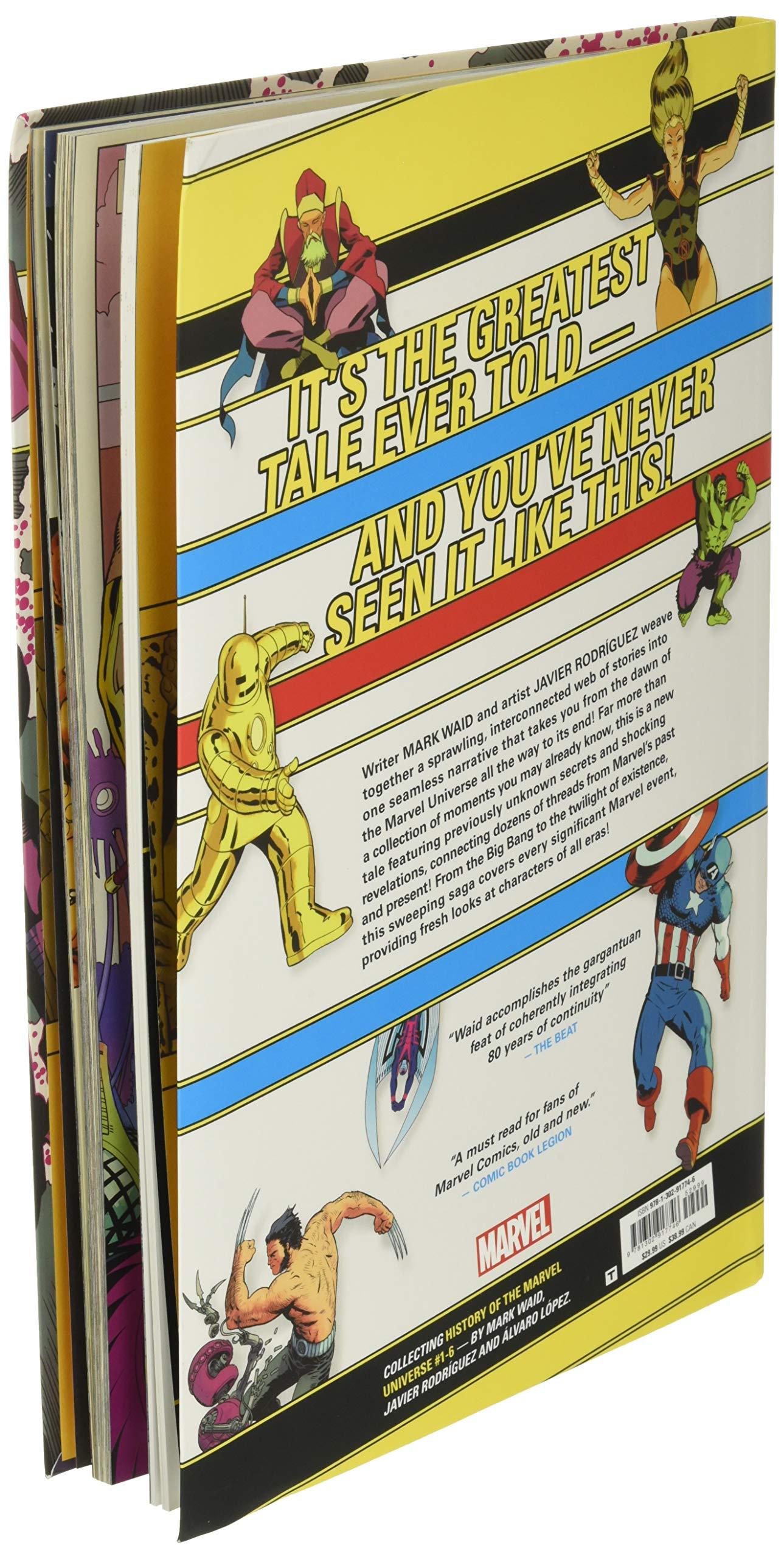Amazon.com History of the Marvel Universe Treasury Edition ...