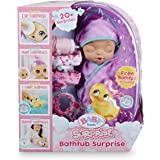 Baby Born Surprise Bathtub Surprise Purple Swaddle Princess