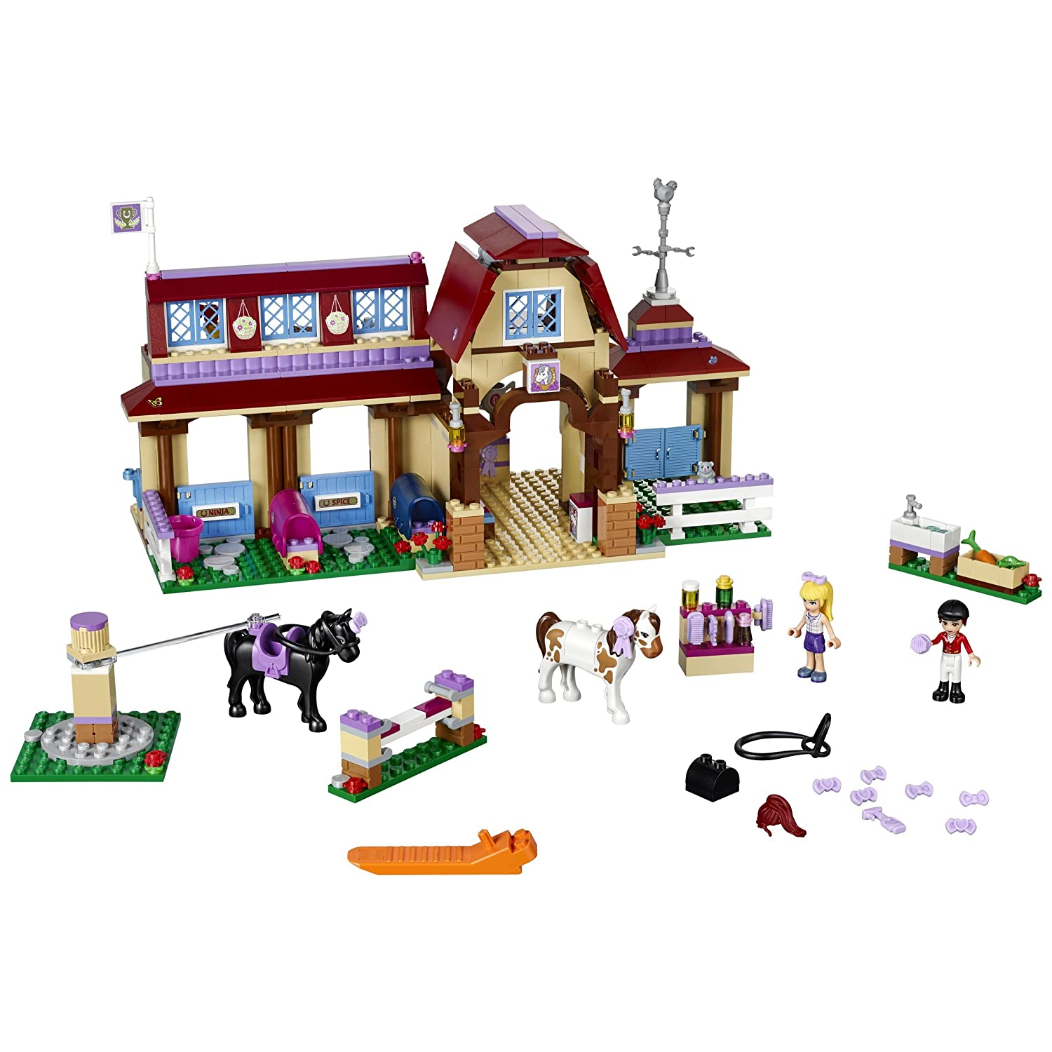 Lego 41126 Friends Heartlake Riding Club Toys Games Blok Creative Isi 100 Pcs