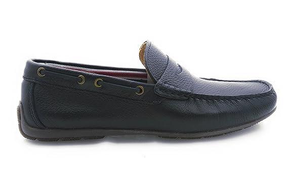 Zerimar Mocasines de Caballero Fabricados EN Piel Diseño marcando Moda Forro Interior EN Piel: Amazon.es: Zapatos y complementos