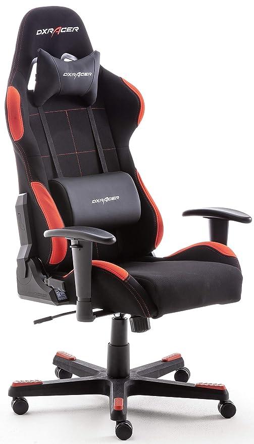 Robas Lund Oh Fd01 Nr Dx Racer 1 Gaming Buro Schreibtischstuhl Mit Wippfunktion Gamer Stuhl Hohenverstellbarer Drehstuhl Pc Stuhl Ergonomischer