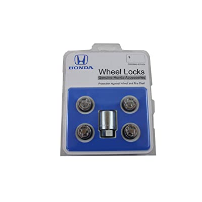 Honda Genuine Accessories 08W42-SCV-101 Alloy Wheel Lock: Automotive