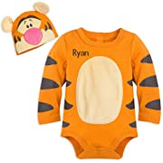 Disney Tigger Costume Bodysuit Set for Baby - Size 6-9 MO Multi