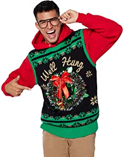 Amazoncom Light Up Sexy And I Snow It Ugly Christmas Sweater Clothing
