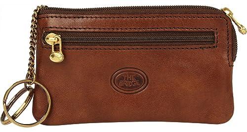 dce691dc30 Portachiavi uomo marrone The Bridge in pelle 010026/01/14: Amazon.it:  Scarpe e borse
