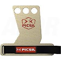 PicSil Azor 3H Calleras para Cross Training Grips 3 Agujeros Agarre y Protector de Mano o Guantes para Gimnasia Unisex…