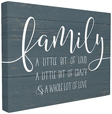 Amazoncom The Stupell Home Decor Collection Family Loud