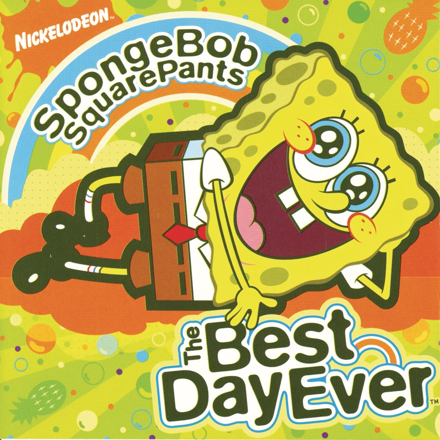spongebob squarepants the best day ever amazon co uk music