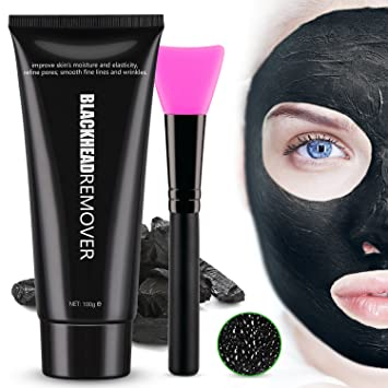 How to make charcoal mask for blackheads