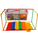 Straws Builders 720 pcs set with FREE plastic container