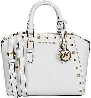 3b5083250335 Michael Kors Studded Medium Ciara Saffiano Leather Womens Messenger Bag