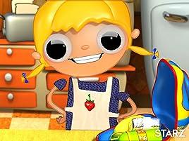 ¿Una televisión con patatas asadas? ¡No, Telmo! Es un sándwich de queso y jamón con zumo de sandía. ¡Y es muy fácil de hacer!